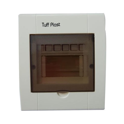 6 Way Tuff Plast MCB Box