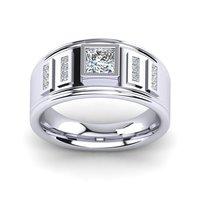 Mens Silver Rings