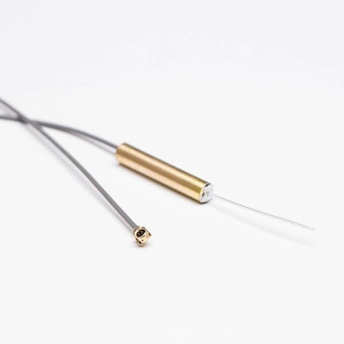 Internal Wifi Antenna Copper Tube With Gray Coaxial Cable RF1.13