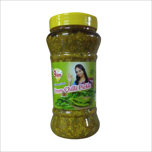 500Gm Green Chilli Pickle