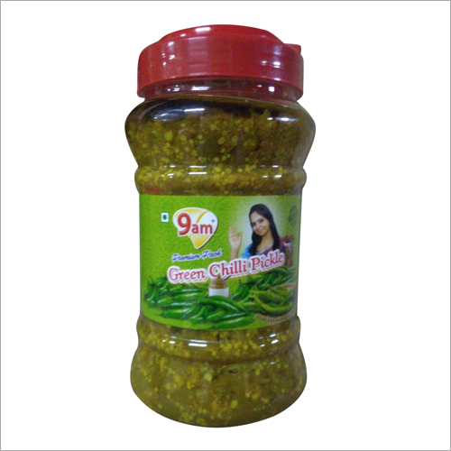 1Kg Green Chilli Pickle