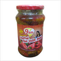 400 Gm Red Chilli Stuffed Pickle