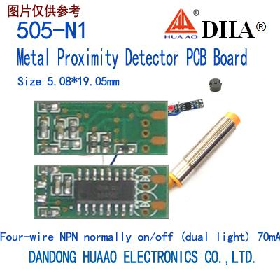 505-N1 Metal Proximity Detector PCB Board