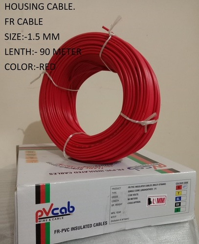 FLEXIBLE CABLE HW 1.50 BLACK GREEN GRAY YELLOW RED