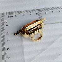 30*15mm New Metal Alloy Metal Flip Bag Lock Twist Lock for Handbags/Garment Accessories (HD252-19)