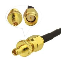 4G LTE 5dBi Booster 700-2600Mhz Antenna Strong Magnetic Base SMA & TS9 Adapter