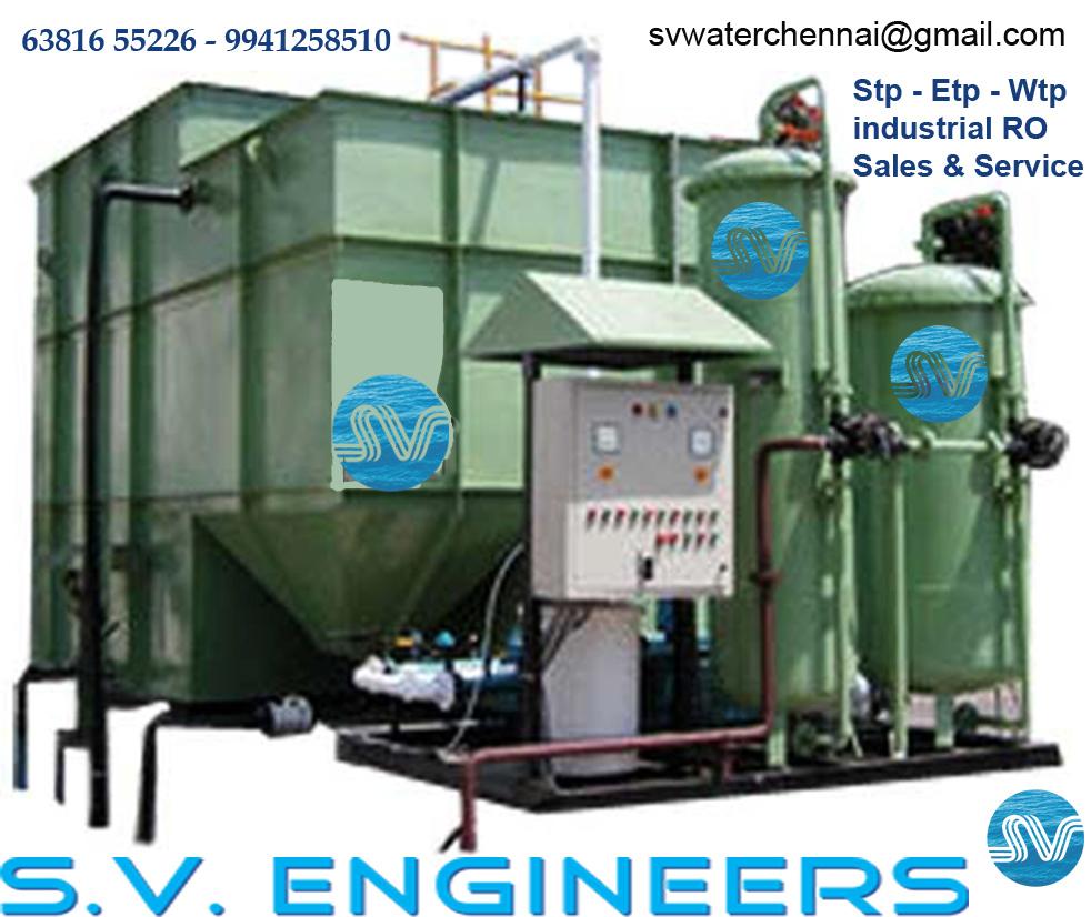 water treatment plants erection