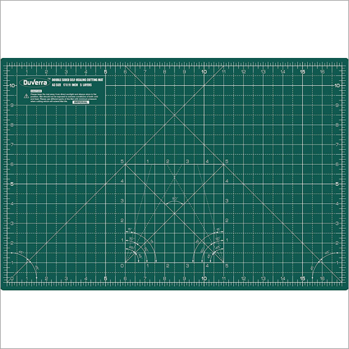 17x11 inch A3 Double Sided Self Healing 5 Layers Cutting Mat