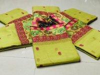 Pure Cottan with  Rich Pallu saree