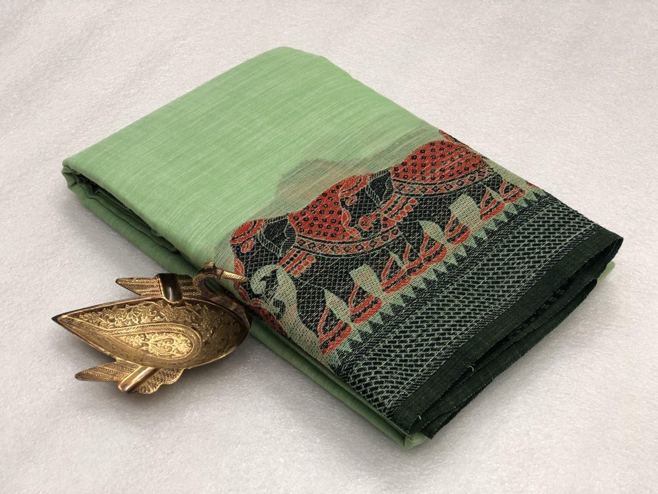 Super Linen Saree