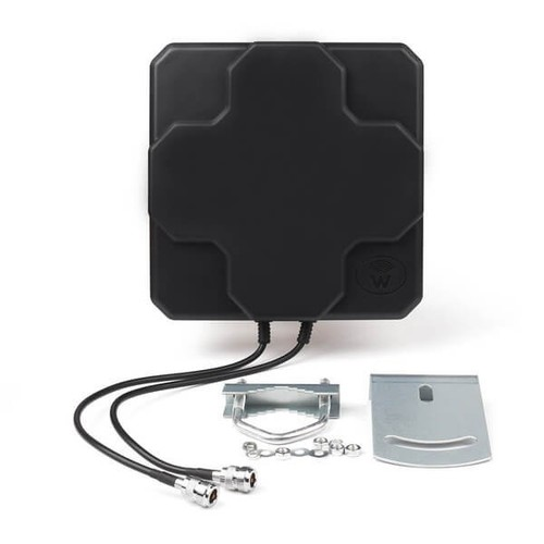 18dBi 4G LTE Antenna Outdoor Panel Dual MIMO N Female Signal Strength Booster