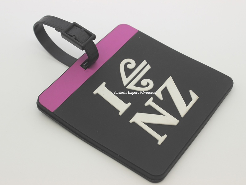Silicone Baggage Tag