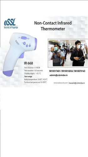 eSSL Infrared Thermometer IR668