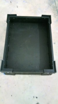 ESD Corrugated Tray
