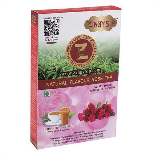 Zingysip Natural Rose Tea
