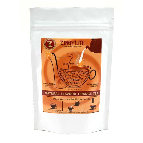 Zingysip Natural Orange Black Tea