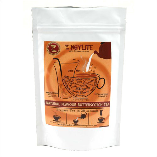 Zingysip zingylite delicious butterscotch tea