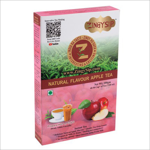 Zingysip Natural Apple Tea