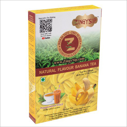 100 gm Zingysip Natural Banana Tea