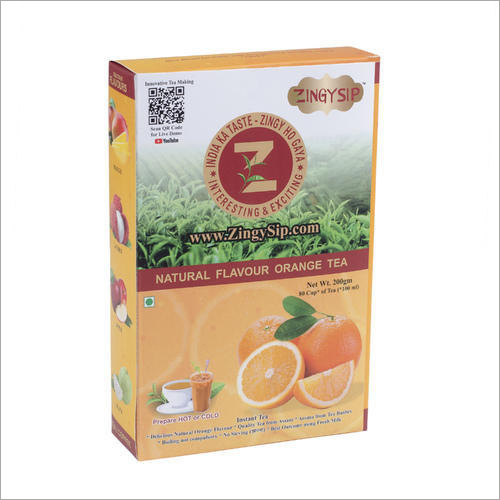 Zingysip Instant Orange Tea