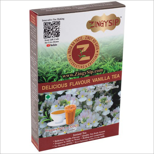 Zingysip Delicious Vanilla Tea