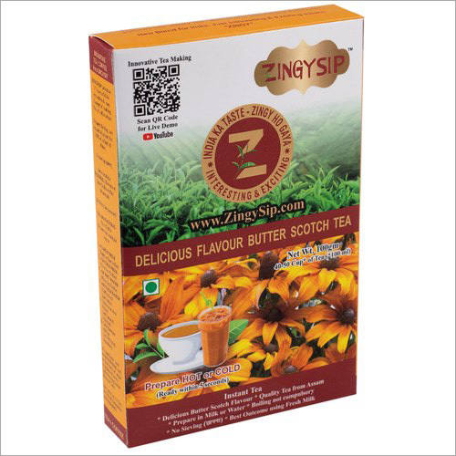 Zingysip Delicious Butterscotch Tea