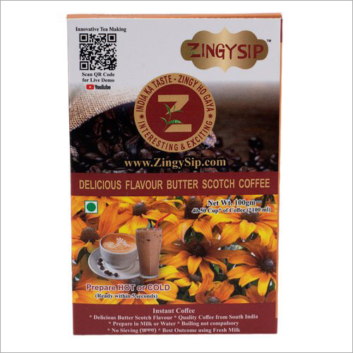 Zingysip Delicious Butterscotch Coffee