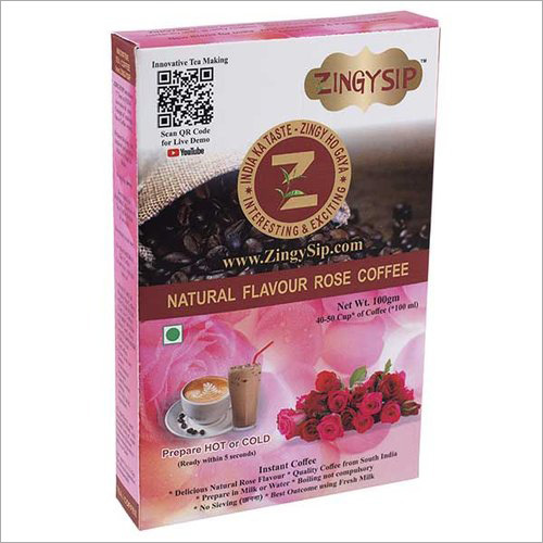 Zingysip Natural Rose Coffee