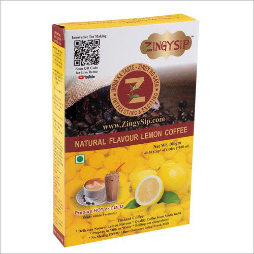 Zingysip Natural Lemon Coffee