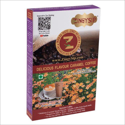 Zingysip Delicious Caramel Coffee
