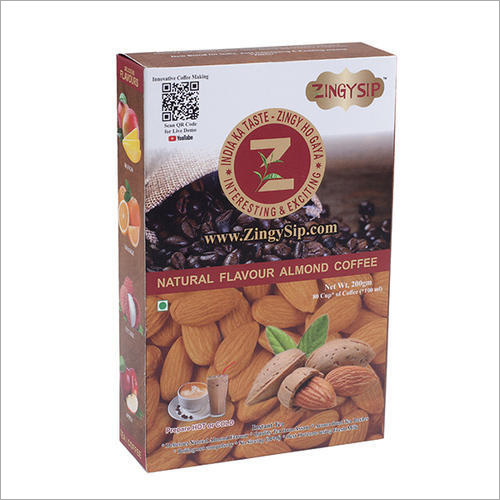 Zingysip Instant Almond Coffee