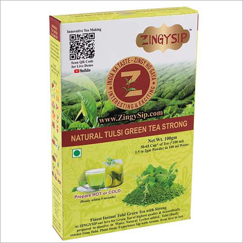 Strong Green Tea Natural