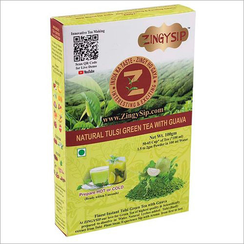Zingysip Green Tea With Fruit (Guava )