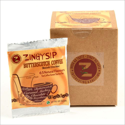 Zingysip - Butterscotch Coffee ( Water Soluble