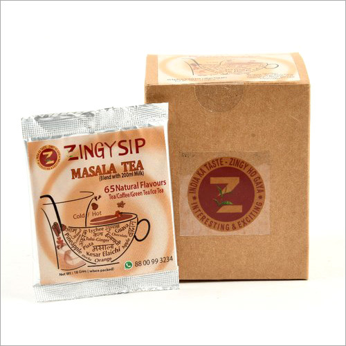 Zingysip Natural Masala Tea ( For Milk