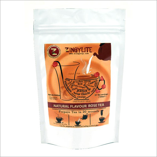 Zingysip zingylite Natural Rose Tea