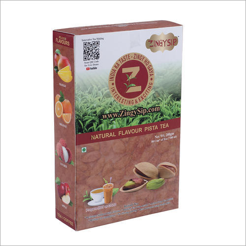 Zingysip Natural Pista Tea