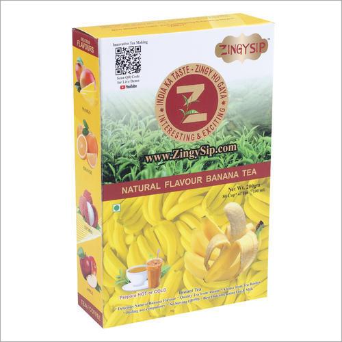 Zingysip Natural Banana Tea
