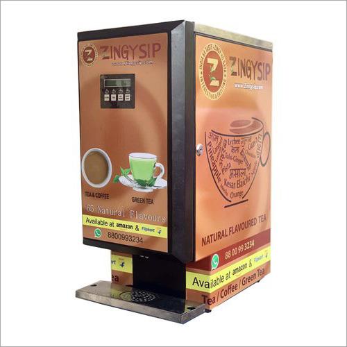 Zingysip 45 Types Of Tea And Coffee Serve Vending Machine