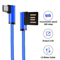 pTron Solero 2.4A Fast Charging USB Cable for Micro USB Smartphones