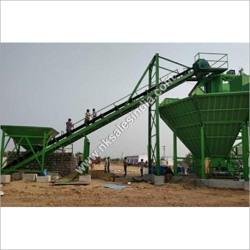 Aggregate Feeding Belt Conveyor System