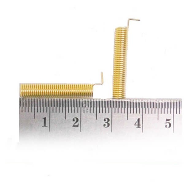 3dBi Gain 315MHz Gold Plated Spring Antenna