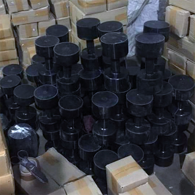 Solid Rubber Dumbells
