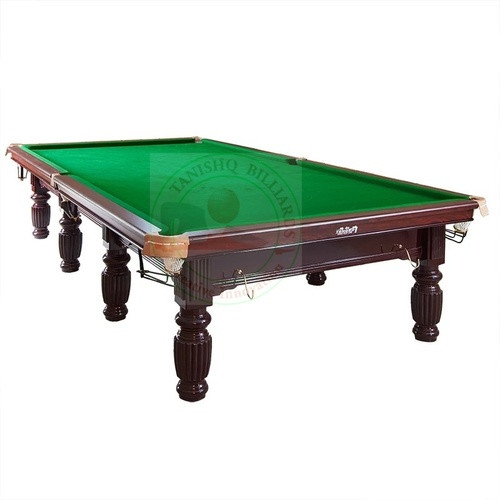 Antique Steel Cushion Snooker Table