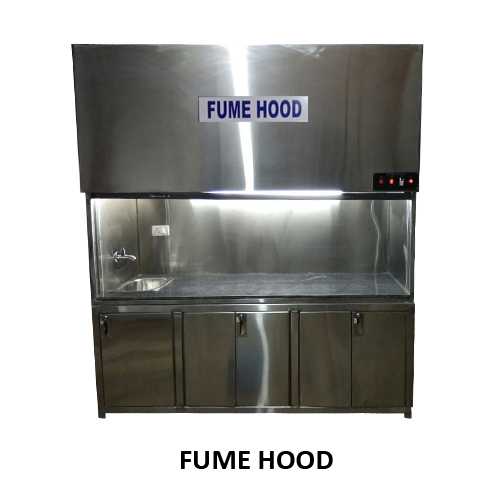 FUME HOOD COMPLETE STAINLESS STEEL 304 GRADE