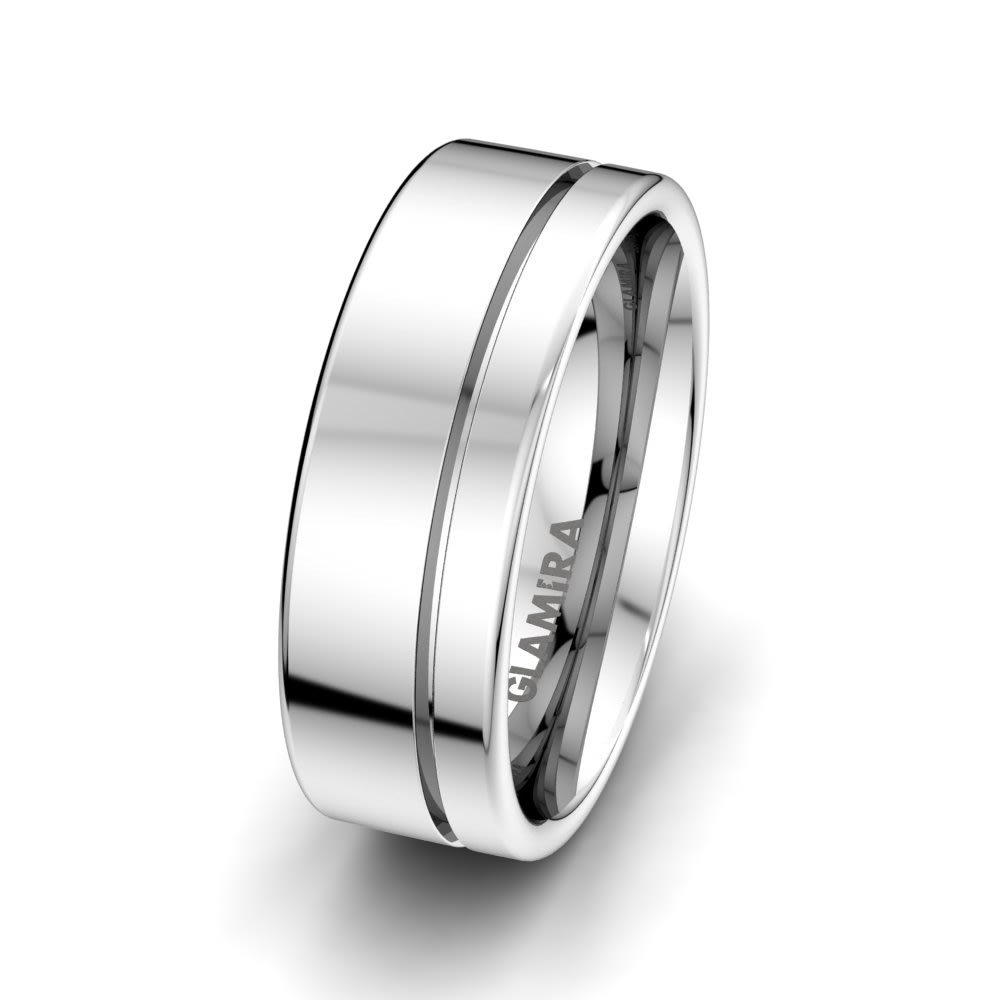 Plain Silver Ring For Men