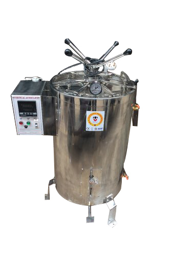 AUTOCLAVE VERTICAL FULLY AUTOMATIC DIGITAL WITH LCD OR LED DISPLAY