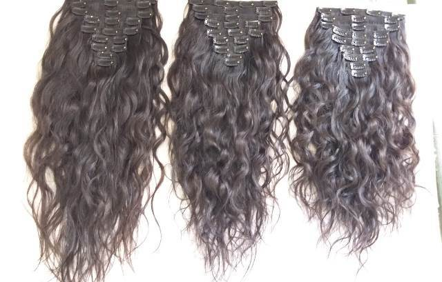 Natural Raw Curly  Clip-in Hair