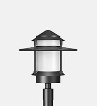 post top lights