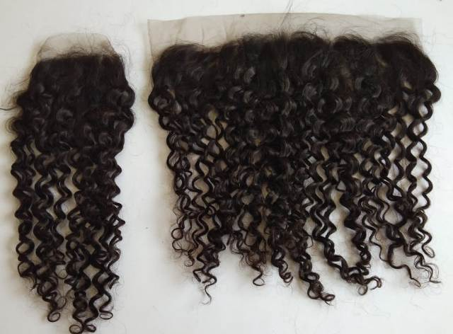 Processed Steam Curly Human Hair
